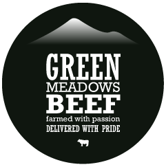 Green Meadows Beef Logo